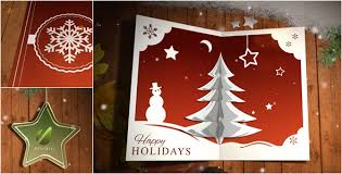 pop up christmas cards christmas card pop up by 3eka videohive
