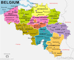 belgium city map belgium city map major tourist attractions maps