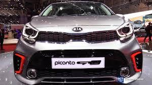 kia picanto 2018 kia picanto gt line exterior interior walkaround debut