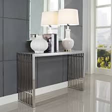 Narrow Wall Table by Furniture Contemporary Narrow Console Table For Entryway