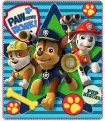 plaid paw patrol pat patrouille plaids rideaux coussins
