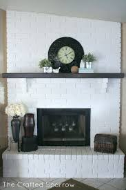 fireplaces black friday best 25 painted brick fireplaces ideas on pinterest brick