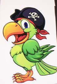 25 pirate parrot ideas toddler crafts