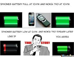 Funny Nokia Memes - iphone vs nokia 7110 by serge10 meme center