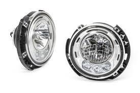 led lights for jeep wrangler jk mopar led headls for 07 17 jeep wrangler wrangler unlimited
