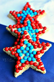 Red White And Blue Chocolate Red White And Blue Rice Krispie Stars From Will Cook For Smiles