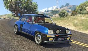 renault 5 rally renault 5 turbo add on replace tuning livery gta5 mods com