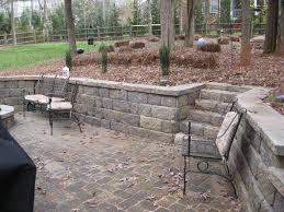 Retaining Wall Patio Design How Do I If My Retaining Wall Is Being Built Correctly Top