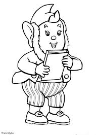 big ears coloring pages hellokids