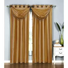 Brown Gold Curtains Black And Brown Curtains Openall Club