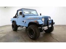old jeep wrangler 1980 classic jeep cj8 scrambler for sale on classiccars com