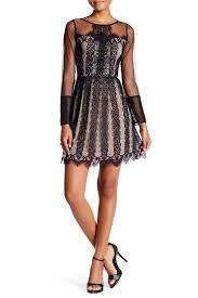 soieblu delicate lace u0026 mesh dress mesh dress nordstrom and