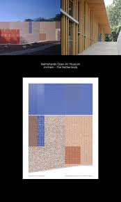 Pantone Canvas Gallery Pattern Poster Serie Inspired By Mecanoo Architectures On Pantone