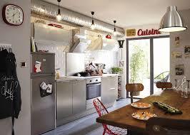 meuble de cuisine style industriel deco cuisine pour magasin de meuble luxe style industriel réussir