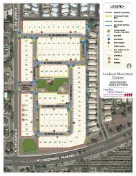 Phoenix Neighborhood Map by Lookout Mountain Estates Discovery Collection In Phoenix Arizona