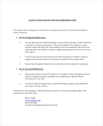 personal recommendation letters recommendation letter for