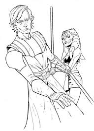 Star Wars Coloring Pages Anakin Skywalker Many Interesting Cliparts