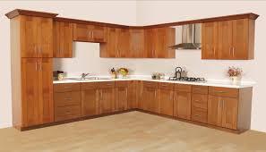 mdf prestige shaker door classic cherry unfinished wood kitchen
