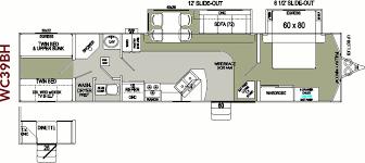 destination trailer floor plans excellent ideas cer floor plans popular travel trailer cing