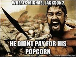 Michael Jackson Popcorn Meme - wheres michael jackson he didnt pay for his popcorn a memo
