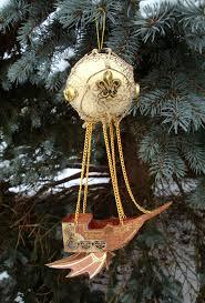 steunk airship ornament idea cool http