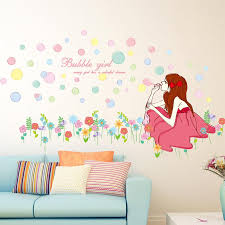 Wall Decors Online Shopping Blowing Bubbles Wall Stickers Online Blowing Bubbles Wall