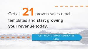 3 proven sales email templates used by successful companies