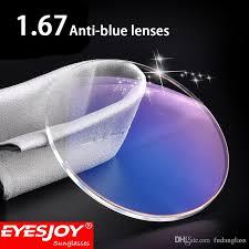 blue light prescription glasses blue light proof glasses 1 61 lens prescription lenses for eyes