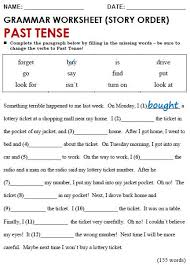 printable worksheets english tenses alluring printable worksheets grade 4 english with additional