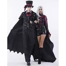 gothic halloween vampire dressed to kill couple costume n14770