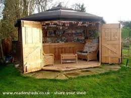 Sheds For Backyard Move Over Man Caves There U0027s A New Trend On The Rise Bar Sheds