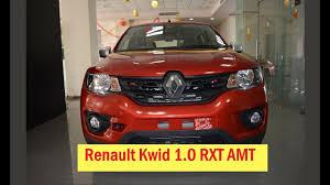 renault kwid 1 0 rxt amt first look interior u0026 exterior walk