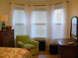 Wooden Blinds With Curtains Window Blinds Bay Window Blind Solutions White Wooden Blinds For