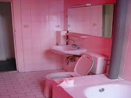 pink and black bathroom accessories photo overview with idolza