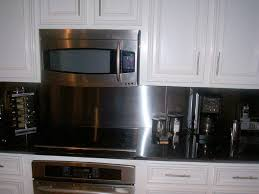 kitchens with stainless steel backsplash beautiful black stainless steel backsplash decosee com