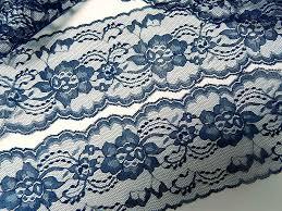 navy blue lace ribbon navy blue lace 10 yds 3 wide trim lace ribbon jars