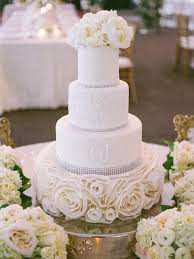 tiered wedding cake with peonies elizabeth anne designs the