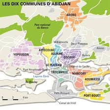 map of abidjan abidjan city guide