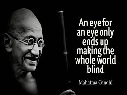 An Eye For An Eye Will Make The World Blind Enemies And Perfection U2013 It Is Easy To Follow Jesus U2026 Gloria Dei