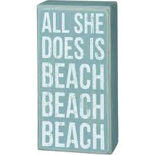 beachy signs all she does is sign is a customer favorite