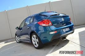 holden hatchback 2012 holden cruze sri v hatch series ii review performancedrive