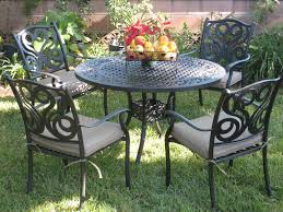 Best Price Cast Aluminum Patio Furniture - 5 piece dining set g