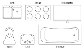 bathroom floor plan symbol sink on farmhouse bathroom vanity plan