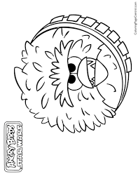 angry birds star wars u2013 chewbacca 01 coloring page coloring page