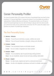 Profile On Resume Examples by Cv Career Profile Examples
