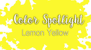colors yellow color spotlight lemon yellow hansa yellow light watercolor
