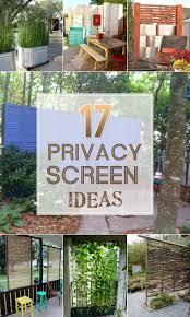 awesome privacy screen for patio 17 privacy screen ideas that39ll