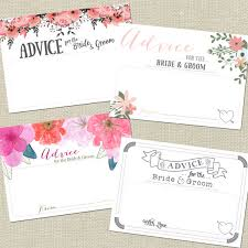 words of wisdom for and groom cards wedding advice cards for the and groom wedding