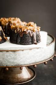 grain free german chocolate bundt cakes kumquat gluten free