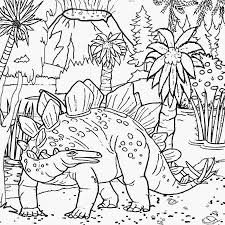 dinosaur landscapes and volcano coloring page dr odd t rex